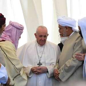 Na 'terra de Abraão', Papa condena opressão e terrorismo
