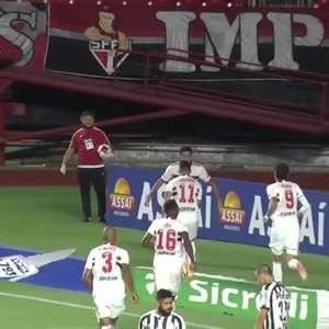 PAULISTA: Gols de São Paulo 4 x 0 Santos