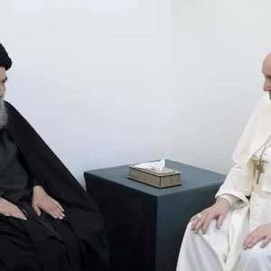 O encontro histórico entre o papa Francisco e o líder ...