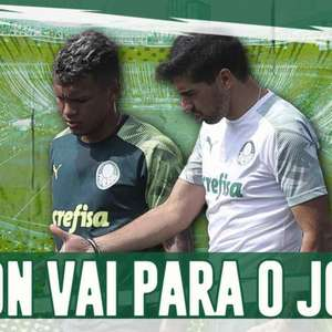 Boletim: Gabriel Veron treina e aumentam as chances de ...