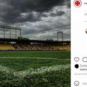 Em rede social, Ulisses assume erro na derrota do Vasco: ...