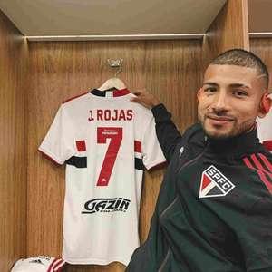 Joao Rojas assume camisa 7 do São Paulo e celebra bom ...