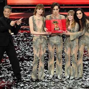 Maneskin vence 71ª edição do Festival de Sanremo