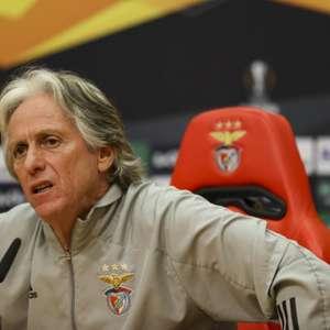 Em crise no Benfica, Jorge Jesus cita carinho da torcida ...