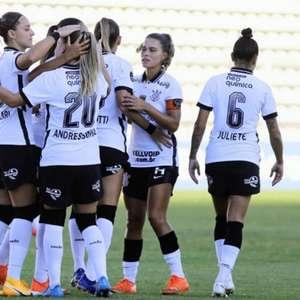 Time feminino do Corinthians goleia Universitario pela ...