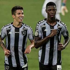 Bruno Nazário e Matheus Babi, do Botafogo, entram na ...