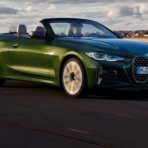 Novo BMW Série 4 Cabrio está confirmado para o Brasil