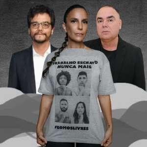 Famosos aderem à campanha contra trabalho escravo no Brasil