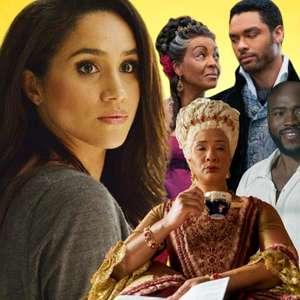 A relação de Meghan e 'Bridgerton' com o racismo no Brasil
