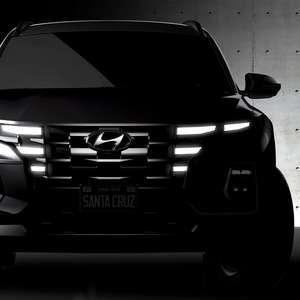 Hyundai revela primeiras imagens da picape Santa Cruz