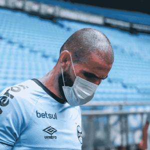 Goleiro Vanderlei não é mais jogador do Grêmio