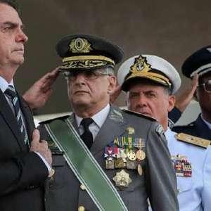 Ex-aliados reagem com silêncio à crise militar