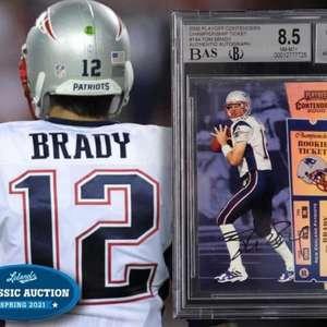 Cartão colecionável de Tom Brady é vendido por R$ 13 milhões
