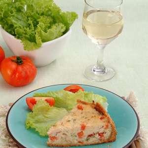 Torta de pescada com Catupiry® para um lanche da tarde ...