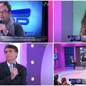 Agnaldo viveu momento tenso na TV ao lado de Bolsonaro