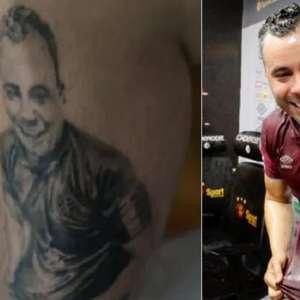 Torcedor que tatuou Jair Ventura discorda de demissão e ...