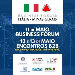 Fórum virtual discutirá negócios entre Itália e Minas Gerais