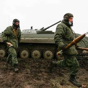 Tensão entre Rússia e Ucrânia volta a subir na área de fronteira
