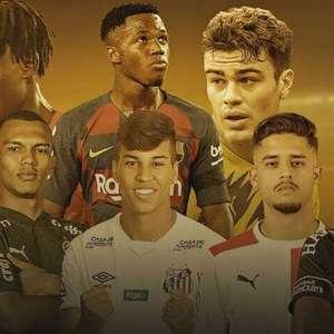 Premiação lista os 50 maiores jovens talentos do futebol mundial