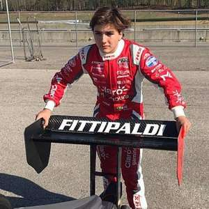 Enzo Fittipaldi é o estreante mais rápido em teste de categoria de acesso da Indy
