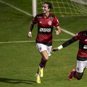 Avassalador, Flamengo goleia o Madureira e volta à liderança