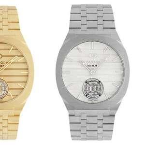 Gucci apresenta primeira coleção de alta relojoaria