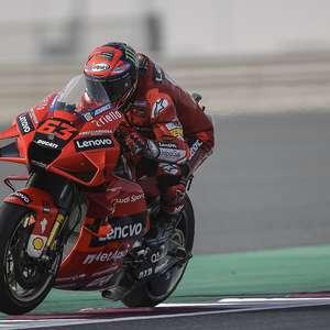 Bagnaia diz que erros custaram pódio no GP de Doha: ...