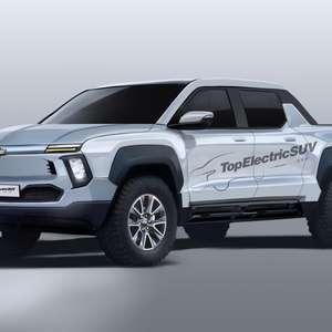 Chevrolet confirma Silverado elétrica com plataforma Ultium