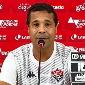 Rodrigo Chagas fica animado com desempenho do Vitória