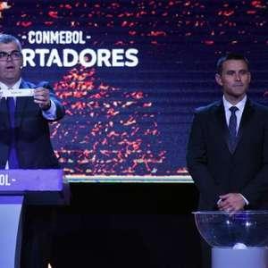 Os potes para o sorteio da fase de grupos da Libertadores 2021