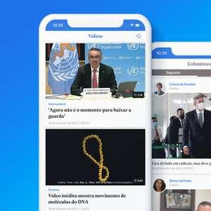 Aplicativo do 'Estadão' ganha abas para vídeos e colunistas