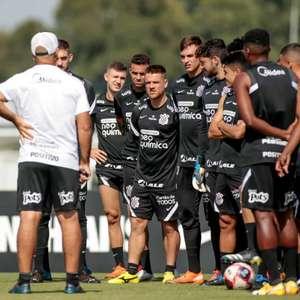 Na expectativa pela volta, Corinthians usa preparação ...