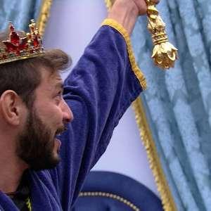 'BBB 21': Na Prova do Líder, Caio ganha a coroa e Fiuk ...