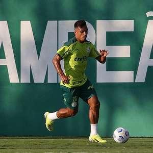 Treino do Palmeiras: Gabriel Menino volta e é ...