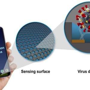 Sensor para celulares detecta vírus da COVID-19 em ...