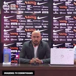 """CORINTHIANS: Roberto de Andrade relata já ter reduzido R$ 2 milhões na folha salarial e reforça sobre contratações: """"vamos brecar gasto desnecessário"""""""