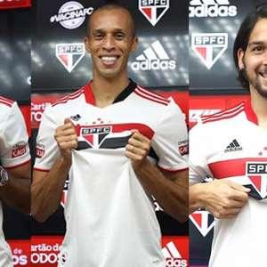 Miranda, Benítez e Eder são inscritos pelo São Paulo no ...