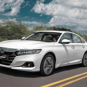 Novo Honda Accord híbrido estreia no Brasil em julho