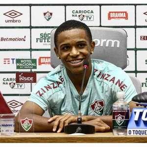 Kayky exalta relação com Fred e garante foco no Fluminense mesmo com venda ao City