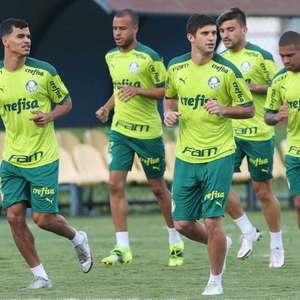 Palmeiras treina após Supercopa já de olho no jogo de ...