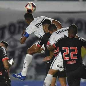 Santos fica no empate com o Botafogo na Vila Belmiro
