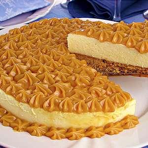 Cheesecake prática de doce de leite para uma sobremesa ...