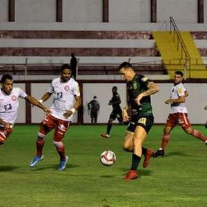 América-MG perde para o Tombense e 'entrega' vice-liderança para o Cruzeiro no Campeonato Mineiro