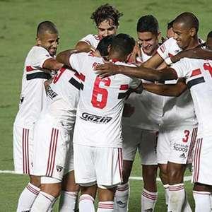 São Paulo atropela o São Caetano na volta do Paulistão