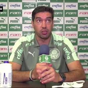 """PALMEIRAS: Abel Ferreira explica expulsão e relata o que disse para levar o vermelho: """"duas grandes equipes em campo mereciam um árbitro do mesmo nível"""""""