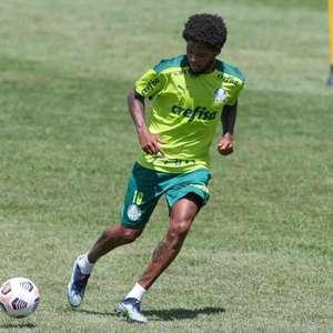 Com Luiz Adriano e Danilo Barbosa, Palmeiras treina ...