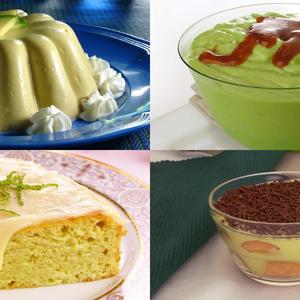 7 sobremesas com abacate para você se deliciar!