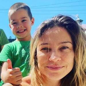 Luana Piovani reencontra os filhos após dois meses e meio: 'Agradecendo pela vida'