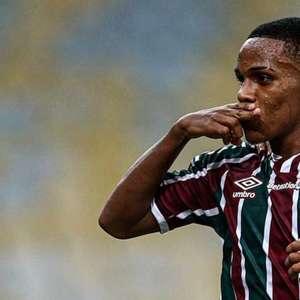 Autor de golaço na vitória do Fluminense, Kayky brinca ...