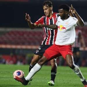 São Paulo enfrenta o RB Bragantino buscando manter o bom momento